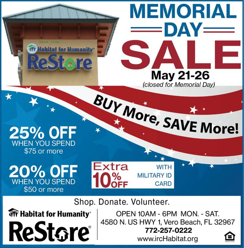 2018 Memorial Day Sale Color forwebsite
